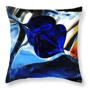 Glass Abstract 706 Throw Pillow