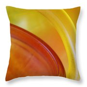 Glass Abstract 723 Throw Pillow