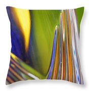 Glass Abstract 743 Throw Pillow