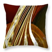 Glass Abstract 744 Throw Pillow