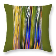 Glass Abstract 747 Throw Pillow