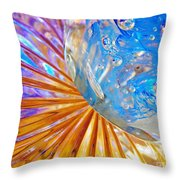 Glass Abstract 767 Throw Pillow