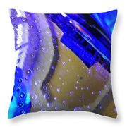 Glass Abstract 780 Throw Pillow