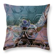 Glass Abstract II Throw Pillow