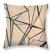 Glass And Sky 1 Throw Pillow