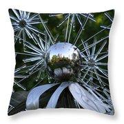 Glass Art Throw Pillow