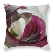 Glass Beauty Throw Pillow