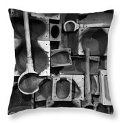 Glass Blower Molding I Throw Pillow