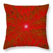Glass Fantasia Catus 1 No 9 V Throw Pillow