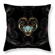 Glass Globe Throw Pillow