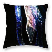 Glass Icicles Throw Pillow
