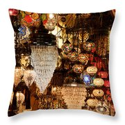 Glass Lanterns 07 Throw Pillow