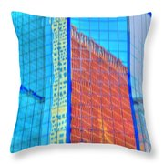Glass Reflections Throw Pillow