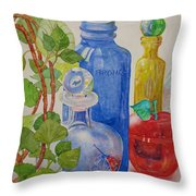 Glass Reunion Throw Pillow