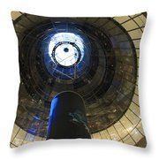 Glass Spiral Throw Pillow