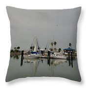 Glassy Water Throw Pillow