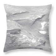 Gleaming Facets Throw Pillow