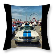 Gleaming In The Sun Throw Pillow