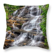 Glen Falls Throw Pillow