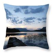 Glenade Lake Co Leitrim Ireland Throw Pillow