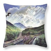 Glencoe Throw Pillow by Steve Crisp
