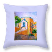 Gleneagles Gozo Throw Pillow by Marco Macelli
