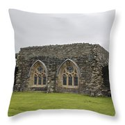 Glenluce Abbey - 1 Throw Pillow