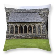 Glenluce Abbey - 5 Throw Pillow