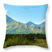 Glenn Hwy A-1 Throw Pillow