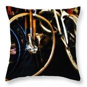 Glitter Palace Throw Pillow