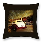 Glitzy Throw Pillow