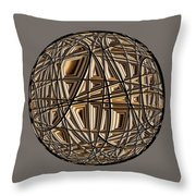 Global Routing Throw Pillow
