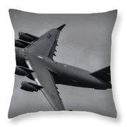 Globemaster IIi Throw Pillow