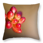 Globules Of Sedum 1 Throw Pillow