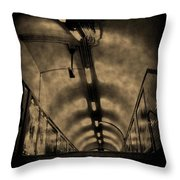 Gloom Throw Pillow