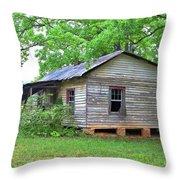 Gloomy Old House Throw Pillow