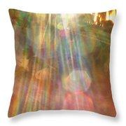 Gloria Catchin' Rays Throw Pillow