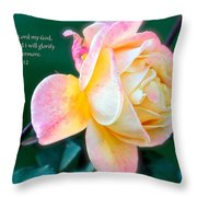 Glorify Throw Pillow