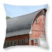 Glorious Barn Throw Pillow
