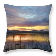 Glorious Morning In Donegal Throw Pillow