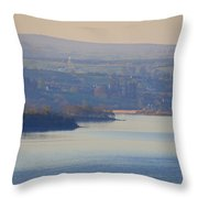 Glorious Morning On Lough Eske - Donegal Ireland Throw Pillow