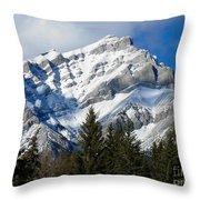 Glorious Rockies Throw Pillow