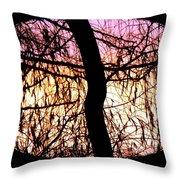 Glorious Silhouettes 3 Throw Pillow