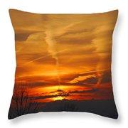 Glorious Sunset Throw Pillow
