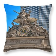 Glory Of Commerce Throw Pillow