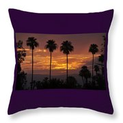 Glory Of Early Morning Throw Pillow
