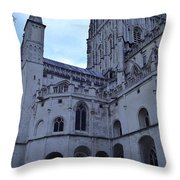 Gloucester Cathedral 2 Throw Pillow