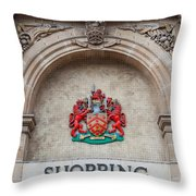 Gloucester Coat Of Arms Throw Pillow