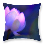 Glow Of Inner Truth. Impressionism Throw Pillow