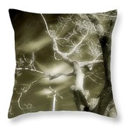 Glow Sky Throw Pillow